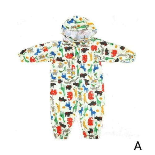 Children Raincoat Boys Girls Rain Coat Waterproof Raincoat Poncho Gift U4R4