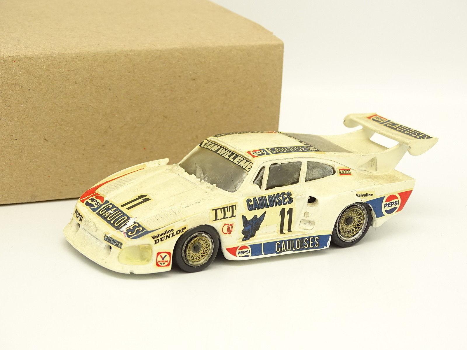 Record Kit Monté Résine 1 43 - Porsche 935 K3 N°11 DRM 1980 Gauloises