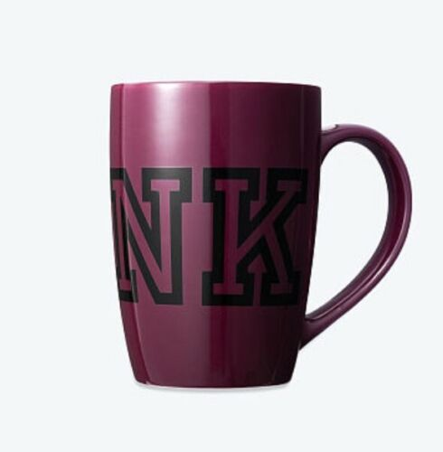Victoria secret pink coffee cup NEW ruby logo