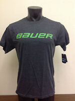 Bauer Hockey Basic Ss Shirt Heather/green