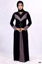 Niqab Hijab Islamic dress Burka Abaya Diamond Lace Burqa black jilbab dubai 1480
