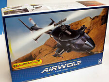 Aoshima 1/48 Airwolf Plastic Model Kit 005590 w/ extra clear body