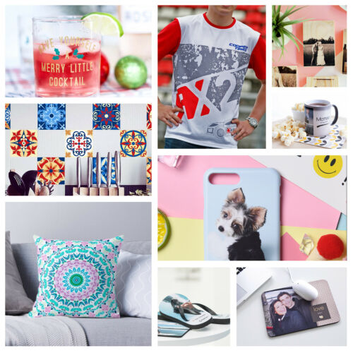 110 Sheets 105gsm 8.5x11 Dye Sublimation Heat Transfer Paper Cotton Poly Mugs