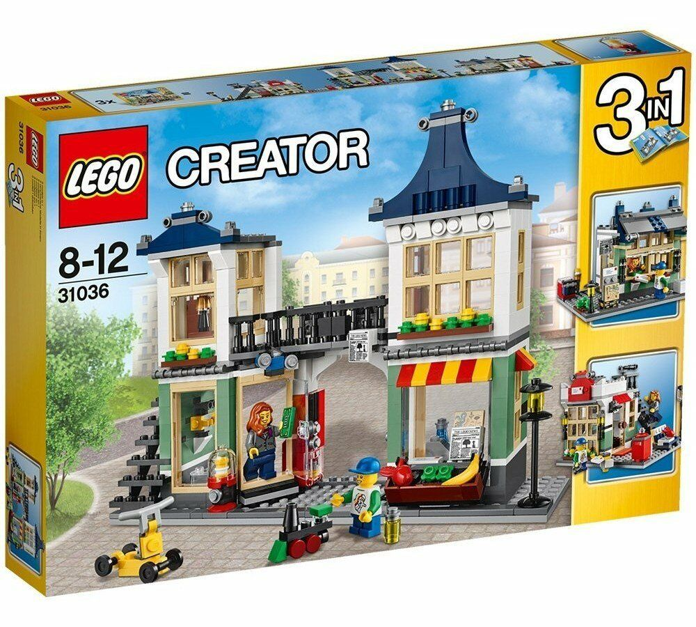 LEGO 31036 - Creator 3in1 - Toy and Grocery Shop - Drogheria - NEW retirouge