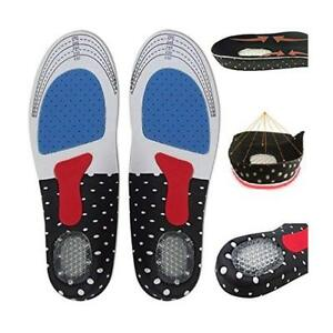 Pair-Gel-Orthotic-Sport-Running-Insoles-Insert-Shoe-Pad-Arch-Support-Cushion-RF