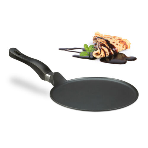 Les crêpes Poêle de Aluguss 25 cm noir plat gusspfanne pour crêpes Crêpes