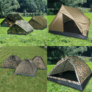 Army Tenda 2 - 3 persone MINIPACK O igloo campeggio RANGER Esercito a cupola