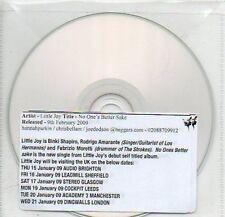 (70B) Little Joy, No One's Better Sake - DJ CD