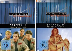 12 DVDs * HINTER GITTERN - DER FRAUENKNAST - STAFFEL 7 + 8 IM SET # NEU OVP §