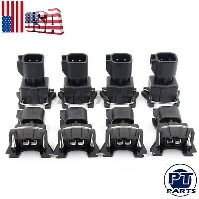 8x OEM Genuine Mercruiser Fuel Injectors For 25180245 802632T 1998-2001 454 BB