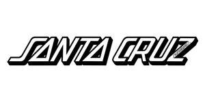 Santa Cruz Classic Strip Skateboard Sticker LARGE 10in White