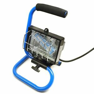 Halogen Work Lamp / Flood Light 150w Portable Garage / Site with Stand SIL216 5056133350333
