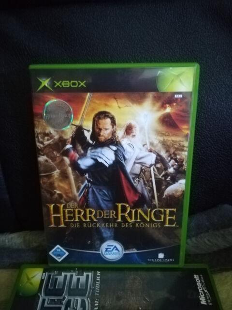Der Herr der Ringe: Die Rückkehr des Königs (Microsoft Xbox, 2003, DVD-Box)
