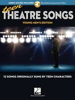 Teen Theatre Songs: Young Men's Edition Book Online Audio 12 Songs 000191948