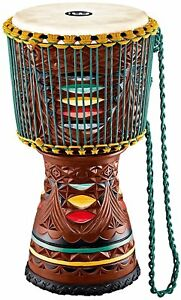 Meinl-Percussion-Artisan-Edition-12-Painted-Carved-Tongo-Djembe-AE-DJTC2-L