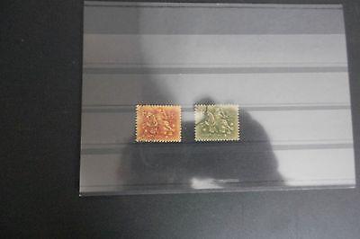 2 Briefmarken Portugal Gestempelt 100% Original