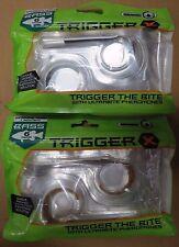 "TRIGGER X -BASS 7"" SWIMMING WORM ENHANCED SOFT PLASTICS 2 PACKS of 6 each Qty 12"