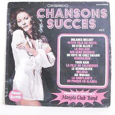 """33T MANOLO CLUB BAND Disque Vinyle LP 12"""" CHANSONS SUCCES Vol 2 MR.PICKWICK 019"""
