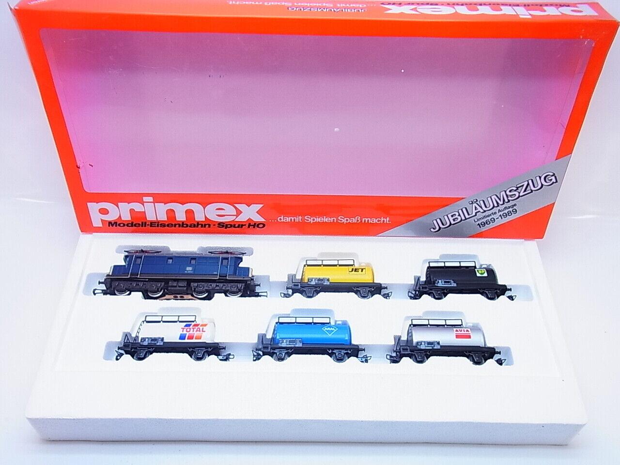 59386 59386 59386   marklin PRIMEX h0 2702 jubiläumszug 1969-1989 Ltd. 6 pezzi in scatola originale 83f19e