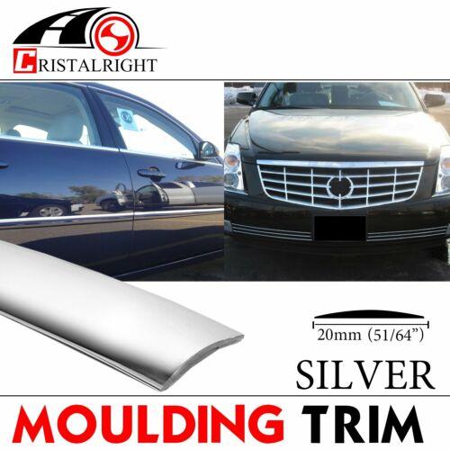 10ft Molding Trim Car Door Edge Guard Bumper Trunk Decortive Silver 3//4/'/' 20mm