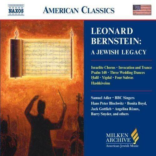 Leonard Bernstein, T - Milken Arch American Jewish Music: Jewish Legacy [New CD]