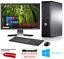 Complet-Dell-Dual-Core-Ordinateur-De-Bureau-Tour-Pc-amp-TFT-Ordinateur-avec-Windows-10-amp-WiFi-amp miniature 1