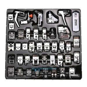 42Pcs-Domestic-Sewing-Machine-Presser-Foot-Snap-On-For-Brother-Singer-Set-Kit
