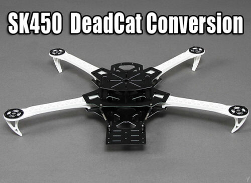 UK SALE Aerobatics and FPV Dead Cat Conversion Kit for SK450 Quadcopter Frame