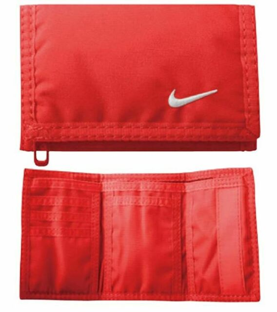 Nike Basic Wallet (Bright Crimson/White)