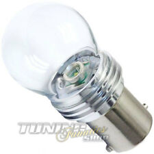 Ba15s High Power 9W CREE- SMD LED Birne Lampe 6000K Glaskolben Glaskörper WEISS