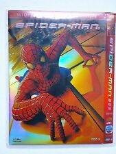 Spider-Man 1, 2.1, 3 Toby McGuire 3 DVD Mandarin Spoken Language Versions China