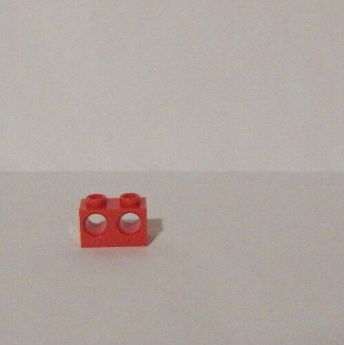 BRICK 1X2 M Lego 4 Stk 2 HOLES Ø 4,87 BR.RED 32000 4179355 aus dem Set 9441