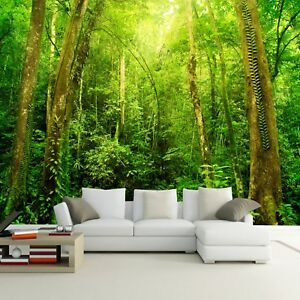 Image Is Loading Natural Scenery 3D HD Large Wall Mural Forest