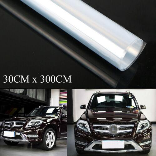 Car Clear Transparents Paints Protection Vinyl Film Wrap Scratch Shield 3 Layers