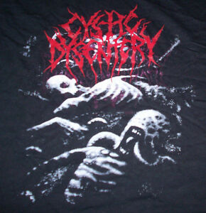 CYSTIC-DYSENTERY-Culture-Of-Death-GIRLY-T-SHIRT-WOMANS-SHORTSLEEVE
