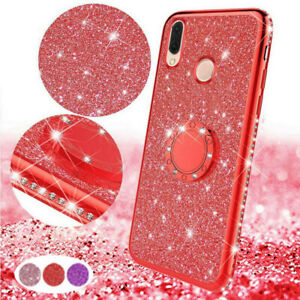 For-Xiaomi-Redmi-6A-Note-6-Mi-A2-Lite-Luxury-Bling-Ring-Holder-Stand-Cover-Case