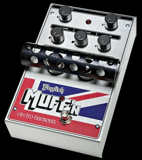 Electro-Harmonix EHX English Muff'n Tube Distortion/Preamp Guitar Effects Pedal
