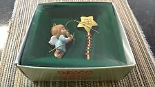 1986 Enesco Heavenly Holiday Handcrafted Angel Ornament