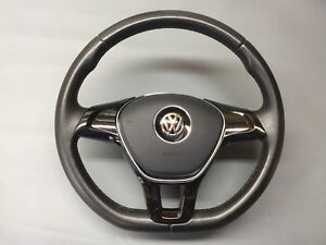 VW-T5-1-T6-Transporter-Steering-Wheel-Leather-3-Spoke-2010-2018-Flat-Bottom-6