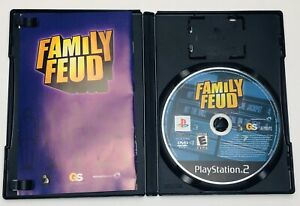 Family-Feud-PS2-Sony-PlayStation-2-Complete-Manual-Tested-CIB
