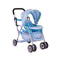 Joovy Toy Caboose Stand-On Tandem Stroller - Blue Dot