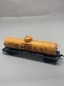 HO-Scale-Shell-SCCX-1260-Single-Dome-Tanker-Train-Car-Railroad-S5