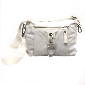 George-Gina-amp-Lucy-Borsa-Piccola-Donna-Mini-Bag-Bianco-Tessuto-Nylon-Tracolla