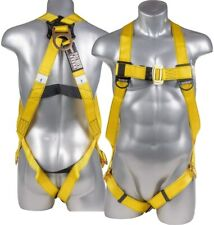 Full Body Universal Safety Harness 1d Fall Protection Ansi Osha Compliant