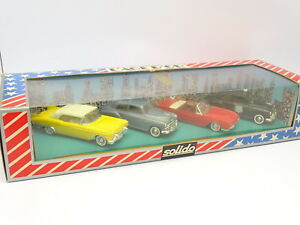 Solido 1/43 - Coffret Usa Cadillac Buick Chevrolet Ford