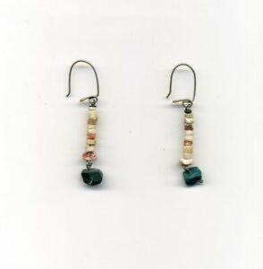 Peru-Amazon-Small-Earrings-featuring-chaqirras-and-Peruvian-turquoises