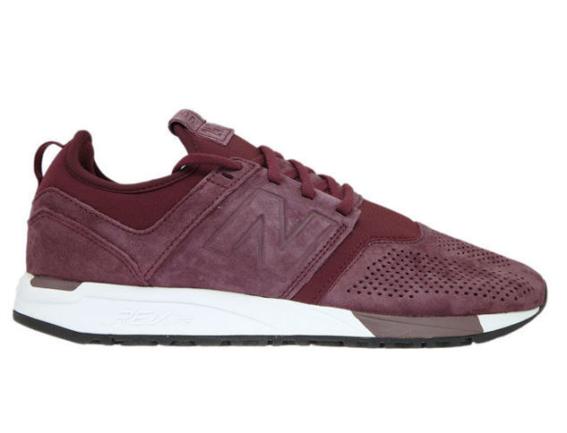 New balance mrl247lr Burgundy with blancoo