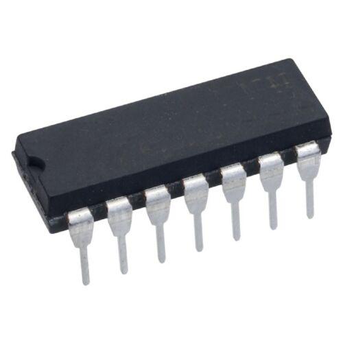 74HC09 Quad 2-Input Positivo y puerta con Colector de salida TTL HCMOS abierto 1
