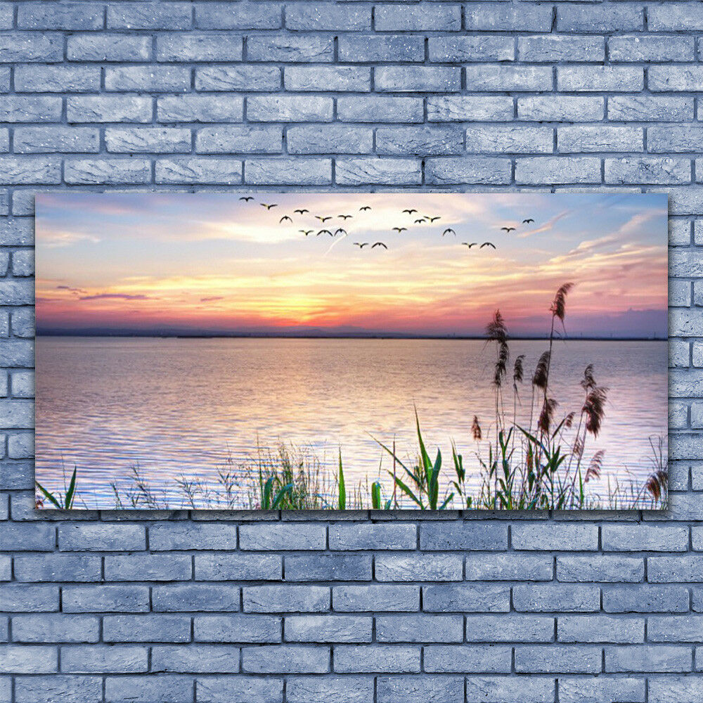 Canvas print Wall art on 140x70 Image Image Image Picture Sea Landscape 0020b6