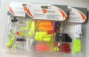 Lot Of 3 Packs South Bend Assorted Fishing Lure Kit - Assorted Colors